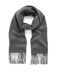Mulberry Classic Cashmere Scarf Grey