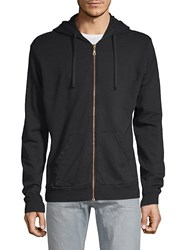 Robin's Jean Winged Racer Cotton Hoodie Black