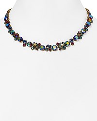 Sorrelli Multicolored Crystal Collar Necklace 16 Super Multi