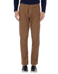 Fred Mello Trousers Casual Trousers Men Brown