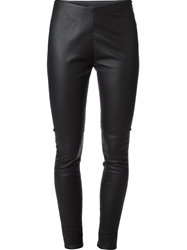 Mm6 By Maison Martin Margiela Skinny Trousers Black