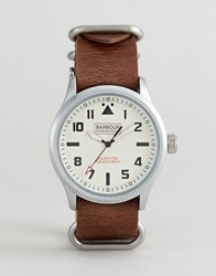 Barbour Bywell Watch With Tan Strap