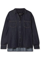 3X1 Joni Denim Shirt Dark Denim