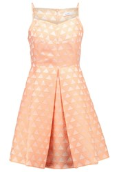 Maxandco. Patti Cocktail Dress Party Dress Light Orange
