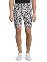 Slate And Stone Printed French Terry Shorts Palm Print