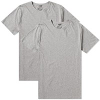 Edwin Double Pack Tee Grey