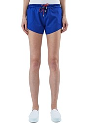 Bobby Kolade Double Drawstring Shorts Blue