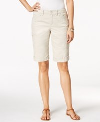 Styleandco. Style Co. Petite Cargo Shorts Only At Macy's Stonewall