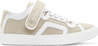 Pierre Hardy Natural Linen And Leather La Tennis Sneakers