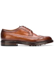Officine Creative Stanford 4 Derby Shoes Brown