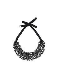 Maria Calderara Short Necklace Black