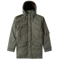 Nanamica Down Coat Green