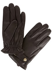 Polo Ralph Lauren Brown Leather Gloves