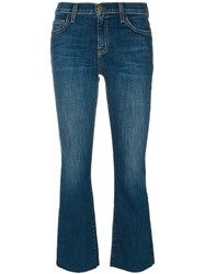 Current Elliott The Kick Jeans Women Cotton Spandex Elastane 24 Blue