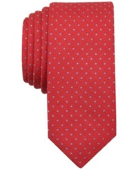 Penguin Men's Springton Dot Tie Coral