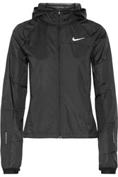 Nike Shield Hooded Shell Jacket Black