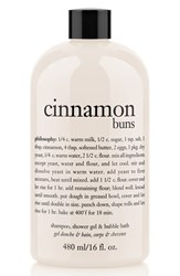 Philosophy 'Cinnamon Buns' Shampoo Shower Gel And Bubble Bath 16 Oz No Color