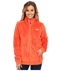 The North Face Mod Osito Jacket Emberglow Orange Women's Coat
