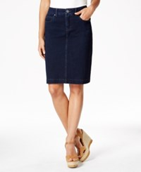 Styleandco. Style And Co. Denim Rinse Wash Skirt Only At Macy's