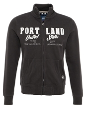 Tom Tailor Portland Tracksuit Top Tarmac Grey Dark Gray