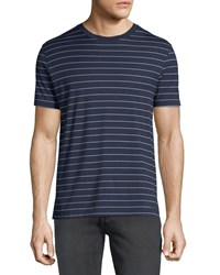 Ralph Lauren Striped Cotton T Shirt Blue