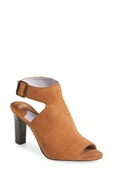 Johnston And Murphy Women's 'Brianna' Slingback Bootie Dark Camel Suede