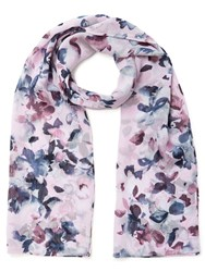 Eastex Watercolour Floral Scarf