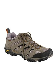Merrell Moab Canvas And Mesh Sneakers Brown Leather Canvas