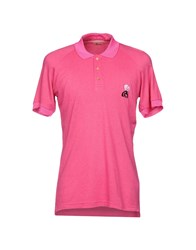 John Galliano Polo Shirts Fuchsia
