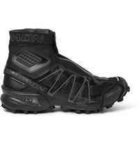 Salomon S Lab Black Snowcross Trail Running Boots Black