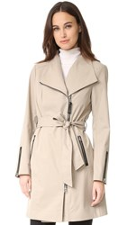 Mackage Estela Trench Coat Sand