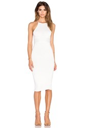 De Lacy Maisey Midi Dress White