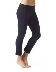 Jockey Slim Fit Ankle Length Leggings Deep Black