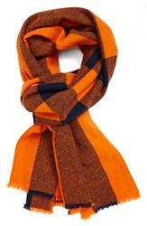Men's Marc By Marc Jacobs Plaid Wool Scarf