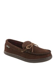Woolrich Potter County Suede Slippers Brown
