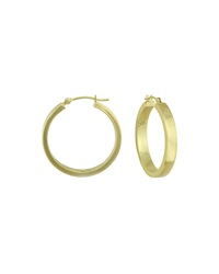 Neiman Marcus 14K Yellow Gold Polished Hoop Earrings 25Mm