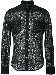 N 21 No21 Lace Shirt Black
