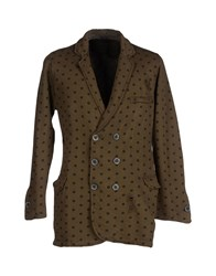 Jijil Suits And Jackets Blazers Men Khaki