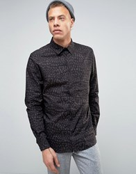 Weekday Leonard Shirt Black