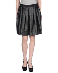 Minimal Skirts Knee Length Skirts Women