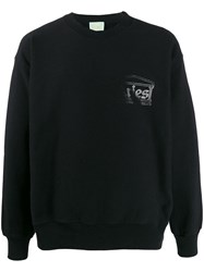 Aries Temple Sweatshirt Black