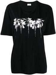 Saint Laurent Palm Tree Printed T Shirt 60