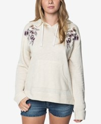 O'neill Juniors' Brianne Embroidered Hoodie Natural