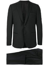 Caruso Two Piece Suit Black