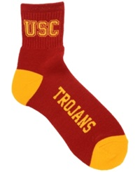 For Bare Feet Usc Trojans Ankle Socks
