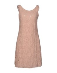 La Fee Maraboutee Short Dresses Beige