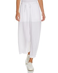 Viktoria And Woods Viktoria Woods Sheer Gaucho Pants White