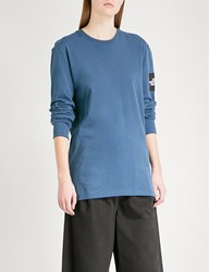 The North Face Fine 2 Cotton Jersey Top Blue Wing Teal