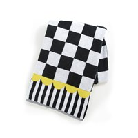 Mackenzie Childs Courtly Check Towel Bath Sheet