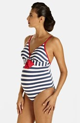 Pez D'or Women's 'Palm Springs' One Piece Maternity Swimsuit